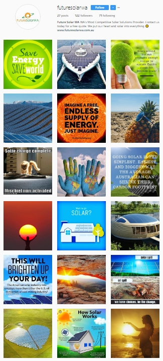 Future Solar WA – Instagram Feed